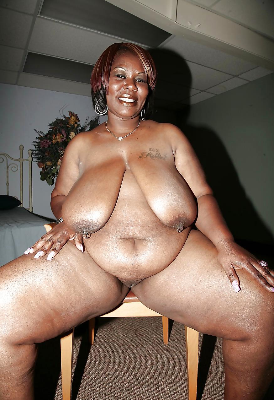 Chubby Mature Ebony